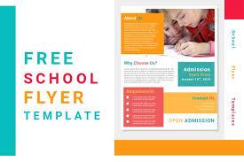 Flyer Templates Word Free School Flyer Templates Word Document File Saidi