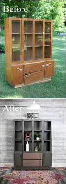 furniture makeover ideas. Funiture Makeovers: Mid Century Modern Painted Hutch. Furniture Makeover Ideas A