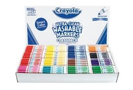 Discount School Supply - Exclusive Crayola® Smart Color Ultra-Clean ...