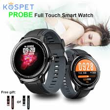 <b>KOSPET Probe 1.3inch</b> IPS Screen IP68 Smart Watch Message Call ...