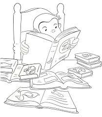 4 curious george coloring images on one page 33 best curious george coloring book pages images
