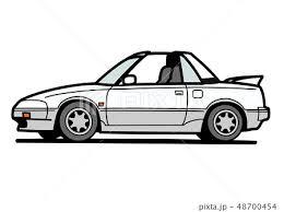 トヨタ車のイラスト素材 Pixta