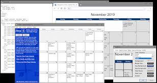 Clander Maker Html Calendar Maker Pro Web Page Calendars Just Got Easier