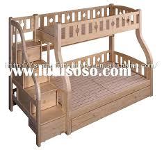 Bedroom Bedroom Wooden Bunk Beds With Steps Wood Loft Bed Desk Loft