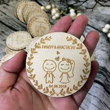 customized wedding wood favors save the date wood magnets engraved wedding gifts for guests souvenirs decoration party favors kids party favors