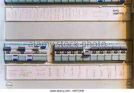 fuse box stock photos & fuse box stock images alamy how to change a fuse in an old fuse box at Household Fuse Box