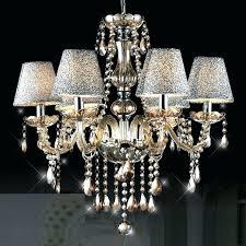 amber crystal chandelier antique steel glass