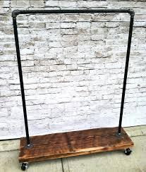 heavy duty coat rack racks standing black color simple hanging with wheel garment canadian tire