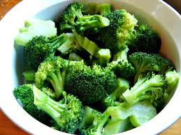 steamed broccoli.  Steamed To Steamed Broccoli