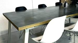 round zinc dining table top tops