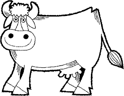 Small Picture Cow coloring page Animals Town animals color sheet Cow free