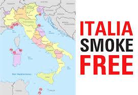 Italia La Penisola Delle Spiagge Smoke Free Lega Italiana Anti Fumo