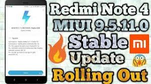 redmi note 4 miui 9 5 11 0 le update