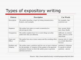 types of expository essays characteristics of expository essays