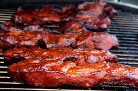 smoked pork country style ribs cherry