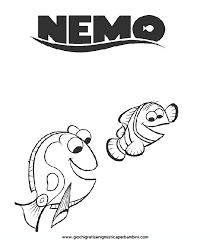 Disegni Da Colorare Nemodory Marlin