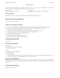 Best Ideas Of Airline Ticket Agent Sample Resume With Additional