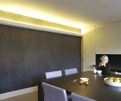 lighted crown molding dining room lighting ideas contemporary dining room design with mountain view crown molding and indirect lighting dining room lighting