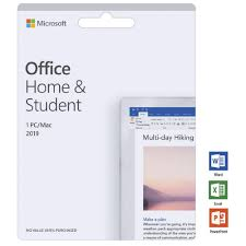 Microsoft Office Home And Student 2019 1 Pc Mac Card