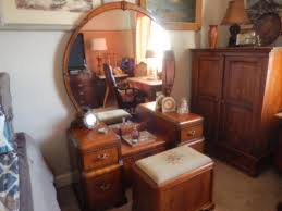 Buy .art Deco Waterfall Vintage Piece Bedroom Set, Full Size Bed Shop For Bedroom  Furniture Waterfall On ...