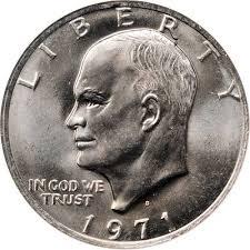 1972 Eisenhower Dollar Value Chart When Dealing With Eisenhower Dollars Grade Is Everything