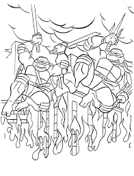 Small Picture New TMNT Printable Coloring Pages Ninja Turtles Coloring Pages