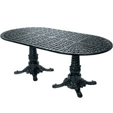 oval dining table pedestal base. Windham Woven 112\ Oval Dining Table Pedestal Base