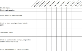 Set the frequency required for each task, and then sort or filter by frequency. Maintenance Checklist Template 12 Download Samples Examples Free