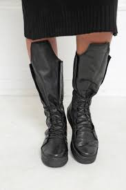 leather boots women boots steampunk boots goth shoes women black shoes