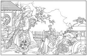 Small Picture Japanese Coloring Books Gallery Website Japanese Coloring Pages at