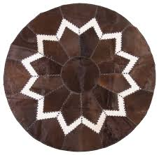 rich chocolate aydin cowhide patchwork area rug 5 2 southwestern area rugs los angeles by aydin hides