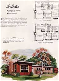 mid century modern house plans. Contemporary Mid NPS Plan Boise Looks Like My House I Wish Had A Fireplace In Living  Room The Way These Plans Show Though Title  Mid Century Modern  On Century House Plans P