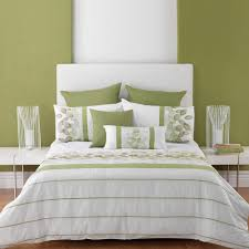 quilt sets simple best bedding striped and unique shades green and white quilt cover in