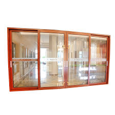 china luxury heavy duty aluminum frame triple track sliding double glass door with fly screen china heavy duty aluminum sliding door triple track sliding