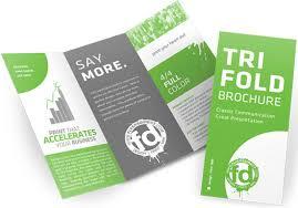 tri fold brochures trifold brochures sugar land printing