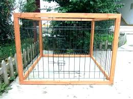 dog fence ideas small short wooden front yard proof fencing uk dog fence