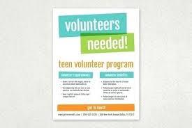 Recruitment Brochure Template Volunteer Brochure Template Bright Bold Flyer Design
