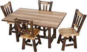 chair dining room tables rustic chairs: hickory dining room table hickory chair dining room tables rustic
