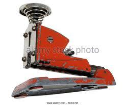 century office equipment. office equipment stapler germany circa 1929 staple red century