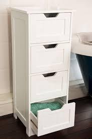Home Treats Tall 4 Drawer Storage Cabinet (Flat Packed): Amazon.co.uk:  Kitchen U0026 Home