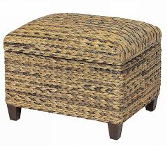seagrass storage ottoman seagrass ottoman seagrass trunk coffee table lovely