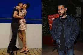 Bella Hadid kisses new boyfriend Marc ...