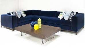 navy blue sectional sofa. Custom Monte Carlo Sectional In Navy Velvet I Roomservicestore With Blue Sofa
