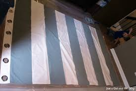 I Wanna Play Too Diy Painted Striped Curtains