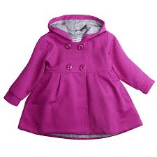 cute baby girl winter warm wool blend snowsuit pea coat outerwear jacket clothes