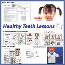 The vast majority of people who go to dentists about the color of their teeth want to whiten them to perfect whiteness. Kindergarten And Preschool Healthy Teeth Lessons And Activities Kidssoup