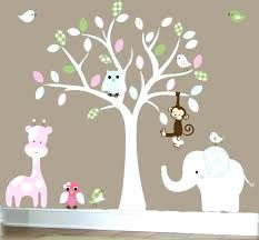 wall decal for nursery plus wall art stickers for bedroom baby room decals for walls jungle on jungle wall art for baby room with elephant bubbles wall decal nursery decor zebragarden me