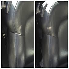 leather mobi car seat repair