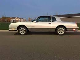 1987 to 1989 Chevrolet Monte Carlo SS for Sale