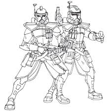 Clone Trooper Coloring Page W8907 Star Wars Coloring Page Star Wars